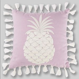 🍍New Embroidered Pineapple Tassel Pillow🍍